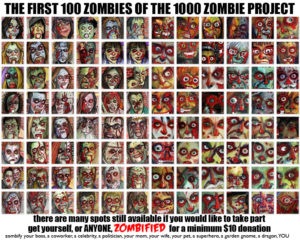 1000-Zombie-Project-first 100| Byron-rempel
